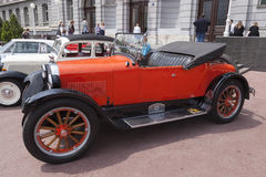 Ανοικτό αυτοκίνητο τεχνάσματος oldtimer Στοκ φωτογραφία με δικαίωμα ελεύθερης χρήσης
