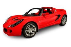 Ανοικτό αυτοκίνητο Little Red Στοκ Φωτογραφία