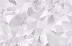 Ανοικτό γκρι διανυσματικό μουτζουρωμένο σχέδιο υποβάθρου τριγώνων γεωμετρικός Στοκ φωτογραφίες με δικαίωμα ελεύθερης χρήσης
