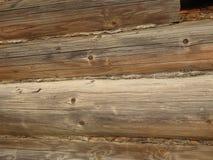 Ανοικτό γκρι χρώμα υποβάθρου - ξύλινη δομή τοίχων κούτσουρων στοκ εικόνες