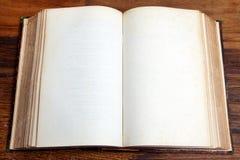 Ανοικτό κενό βιβλίο Στοκ εικόνες με δικαίωμα ελεύθερης χρήσης