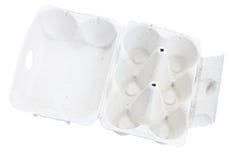 Ανοικτό κιβώτιο αυγών χαρτοκιβωτίων κενό Στοκ εικόνα με δικαίωμα ελεύθερης χρήσης
