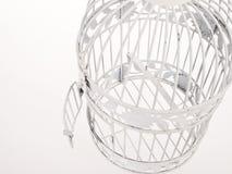 ανοικτό κλουβιών πουλιών που φαίνεται επάνω από Στοκ Εικόνα