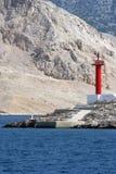 ανοικτό κόκκινο δείτε Στοκ φωτογραφία με δικαίωμα ελεύθερης χρήσης