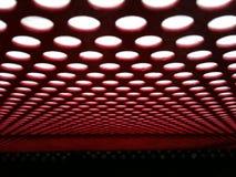 Ανοικτό κόκκινο και άσπρος Στοκ εικόνα με δικαίωμα ελεύθερης χρήσης