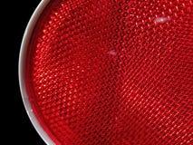 Ανοικτό κόκκινο χρώμα κυκλοφορίας Στοκ φωτογραφία με δικαίωμα ελεύθερης χρήσης