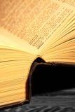 Ανοικτό λεξικό Στοκ φωτογραφία με δικαίωμα ελεύθερης χρήσης