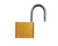 ανοικτό μαξιλάρι κλειδωμάτων Στοκ φωτογραφία με δικαίωμα ελεύθερης χρήσης