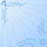 Ανοικτό μπλε ανασκόπηση Στοκ Φωτογραφίες