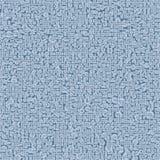 Ανοικτό μπλε διανυσματικό σύγχρονο γεωμετρικό αφηρημένο υπόβαθρο κύκλων Διαστιγμένο πρότυπο σύστασης Γεωμετρικό σχέδιο στον ημίτο Στοκ Φωτογραφίες