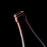 Ανοικτό μπουκάλι Στοκ Φωτογραφίες