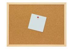 Ανοικτό μπλε σημείωση Στοκ φωτογραφίες με δικαίωμα ελεύθερης χρήσης