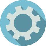Ανοικτό μπλε υπόβαθρο εικονιδίων εργαλείων επίπεδο απεικόνιση αποθεμάτων