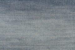 Ανοικτό μπλε φορεμένη σύσταση υφάσματος τζιν τζιν Στοκ Εικόνες
