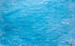 Ανοικτό μπλε ebru Στοκ Εικόνες