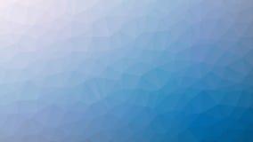 Ανοικτό μπλε Triangulated υπόβαθρο Στοκ φωτογραφία με δικαίωμα ελεύθερης χρήσης