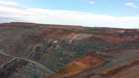 Ανοικτό ορυχείο χρυσού περικοπών Στοκ φωτογραφίες με δικαίωμα ελεύθερης χρήσης