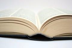 Ανοικτό παλαιό βιβλίο Στοκ εικόνες με δικαίωμα ελεύθερης χρήσης