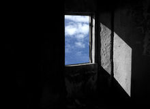 ανοικτό παράθυρο Στοκ εικόνες με δικαίωμα ελεύθερης χρήσης