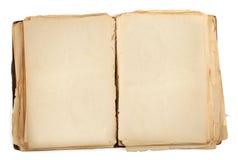 Ανοικτό παλαιό βιβλίο Στοκ φωτογραφία με δικαίωμα ελεύθερης χρήσης