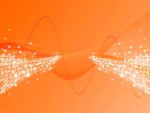 ανοικτό πορτοκαλί ακτίνα διανυσματική απεικόνιση