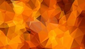 Ανοικτό πορτοκαλί σχέδιο άνευ ραφής τρίγωνο προτύπων γεωμετρικός Στοκ φωτογραφίες με δικαίωμα ελεύθερης χρήσης