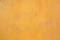 Ανοικτό πορτοκαλί υπόβαθρο τοίχων τσιμέντου Στοκ Εικόνες