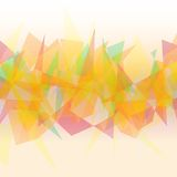 Ανοικτό πορτοκαλί polygonal αφηρημένο υπόβαθρο Στοκ φωτογραφία με δικαίωμα ελεύθερης χρήσης