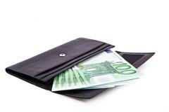 ανοικτό πορτοφόλι Στοκ εικόνα με δικαίωμα ελεύθερης χρήσης