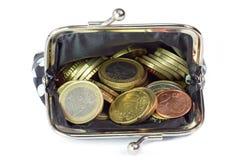 ανοικτό πορτοφόλι Στοκ Φωτογραφία