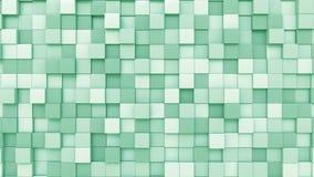 Ανοικτό πράσινο κύβοι φιλμ μικρού μήκους