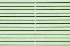 Ανοικτό πράσινο πλαστικό louver του κινητού κλιματιστικού στοκ φωτογραφίες
