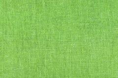 Ανοικτό πράσινο σύσταση λινού για το υπόβαθρο Στοκ Φωτογραφία