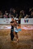 2018 ανοικτό πρωτάθλημα χορού αιθουσών χορού της Κίνας Παγκόσμιου Κυπέλλου WDC Στοκ φωτογραφία με δικαίωμα ελεύθερης χρήσης