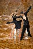 2018 ανοικτό πρωτάθλημα χορού αιθουσών χορού της Κίνας Παγκόσμιου Κυπέλλου WDC Στοκ εικόνα με δικαίωμα ελεύθερης χρήσης
