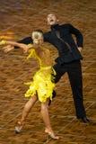 2018 ανοικτό πρωτάθλημα χορού αιθουσών χορού της Κίνας Παγκόσμιου Κυπέλλου WDC Στοκ Φωτογραφία