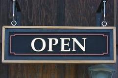 ανοικτό σημάδι Στοκ φωτογραφία με δικαίωμα ελεύθερης χρήσης
