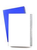 Ανοικτό σημειωματάριο κενών σελίδων στοκ φωτογραφία με δικαίωμα ελεύθερης χρήσης