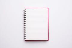 Ανοικτό σημειωματάριο κενών σελίδων Στοκ εικόνα με δικαίωμα ελεύθερης χρήσης