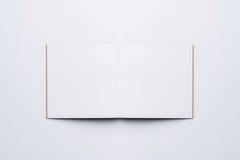 Ανοικτό σημειωματάριο κενών σελίδων Στοκ Εικόνες