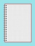 Ανοικτό σημειωματάριο στη σπείρα Στοκ Εικόνες