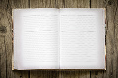 Ανοικτό σημειωματάριο στοκ φωτογραφία με δικαίωμα ελεύθερης χρήσης
