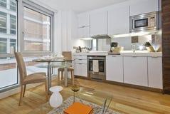 ανοικτό σχέδιο κουζινών Στοκ Εικόνες