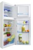 Ανοικτό σύνολο ψυγείων των φρέσκων φρούτων και λαχανικών Στοκ Φωτογραφία