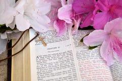 Ανοικτό υπόβαθρο Πάσχας Βίβλων Στοκ Φωτογραφία