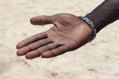 Ανοικτό χέρι Στοκ Φωτογραφία
