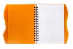 Ανοικτό datebook Στοκ εικόνα με δικαίωμα ελεύθερης χρήσης