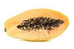 ανοικτό papaya αποκοπών Στοκ εικόνα με δικαίωμα ελεύθερης χρήσης