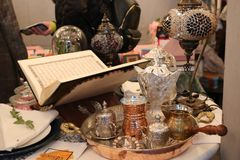 Ανοικτό ramadan kareem ιερών βιβλίων Quran Στοκ Φωτογραφίες