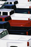 Ανοιχτά φορτηγά Στοκ εικόνα με δικαίωμα ελεύθερης χρήσης